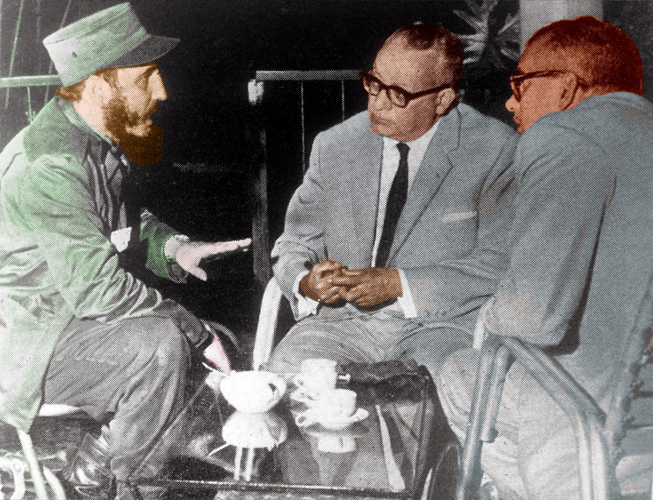 Fidel Castro siempre vio a Venezuela como un botín